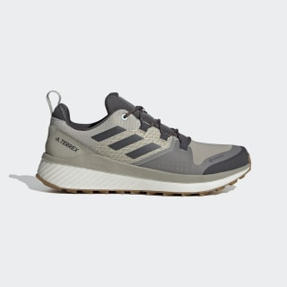 Zapatilla Terrex Folgian Hiker GORE-TEX Hiking Feather Grey / Solid Grey / Green Tint EF0379