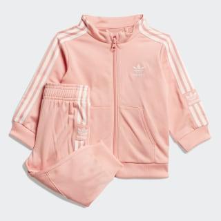 Conjunto Pants con Sudadera Glory Pink / White FM5600