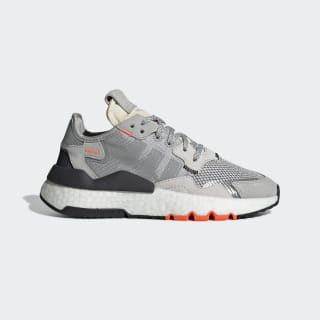 Nite Jogger Shoes Grey Two / Grey Three / Solar Orange DB2808