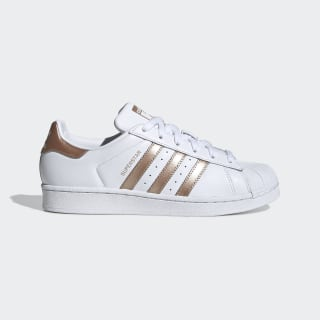 Zapatillas Superstar Cloud White / Copper Metalic / Core Black EE7399