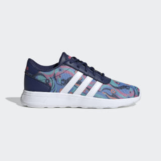 Zapatillas Lite Racer Dark Blue / Cloud White / Real Pink EE8563