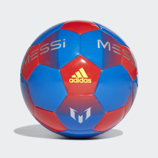 Minibola Messi Football Blue / Active Red / Silver Metallic / Solar Yellow DN8736