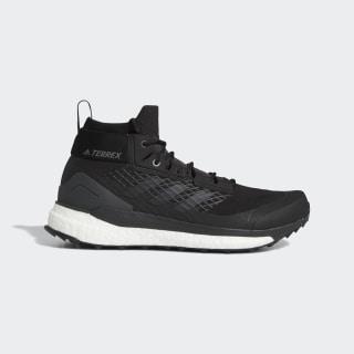 Sapatos de Caminhada Free Hiker GTX TERREX Core Black / Grey Three / Active Orange G26535