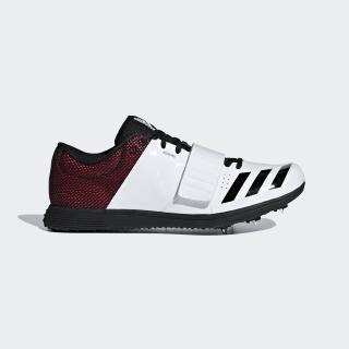 Шиповки для легкой атлетики adizero tj/pv Cloud White / Core Black / Shock Red B37496