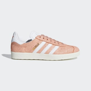 Кроссовки Gazelle clear orange / ftwr white / off white AQ0904