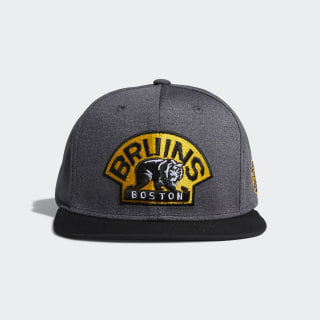 Bruins Snapback Heathered Grey Hat Multi CY0495