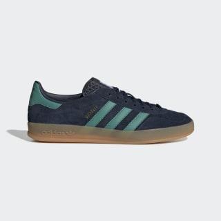 Gazelle Indoor Shoes Collegiate Navy / Active Green / Bluebird G27501