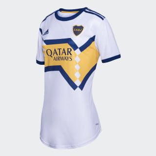 Camiseta Visitante Boca Juniors Mujer White / Mystery Ink GL4169