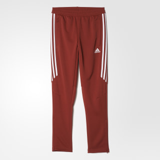 Tiro 17 Training Pants Mystery Red / White BS3688