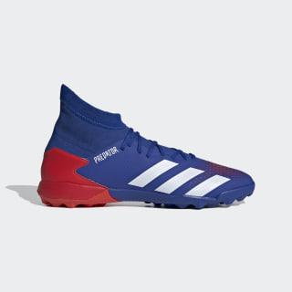Zapatos de fútbol Predator 20.3 Pasto Sintético Team Royal Blue / Cloud White / Active Red EG0963