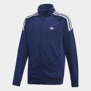 Flamestrike Track Jacket Dark Blue / White DW3866