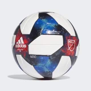MLS Mini Ball White / Black / Bold Blue / Active Red DN8699