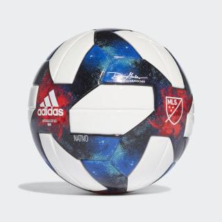 Mini ballon MLS White / Black / Bold Blue / Active Red DN8699