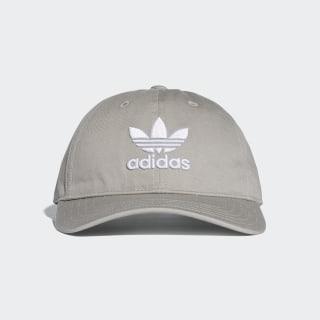 Trefoil Klasik Şapka Multi Solid Grey / White BK7282