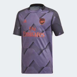 Arsenal Pre-Match Jersey Tech Purple / Black EK4516