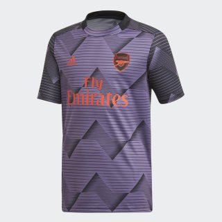 Arsenal opvarmningstrøje Tech Purple / Black EK4516