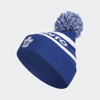 Maple Leafs Cuffed Knit Pom Hat Nhl-Tml-522 / Blue EI6054