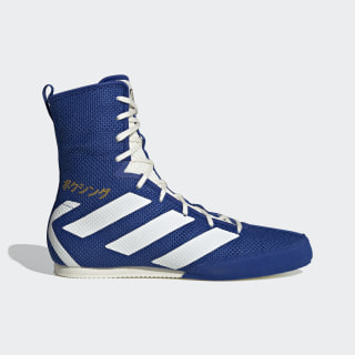 Scarpe Box Hog 3 Collegiate Royal / Off White / Gold Metallic EG5170