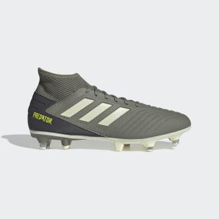 Bota de fútbol Predator 19.3 césped natural húmedo Legacy Green / Sand / Solar Yellow EG2830