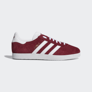 Gazelle Shoes Collegiate Burgundy / Cloud White / Gold Metallic B41645
