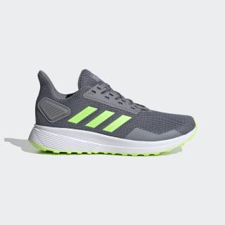 Duramo 9 Shoes Grey / Signal Green / Glory Green EG7897