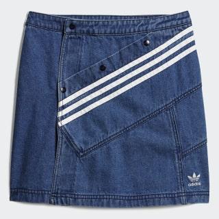 Denim Skirt Washed Blue DZ7497