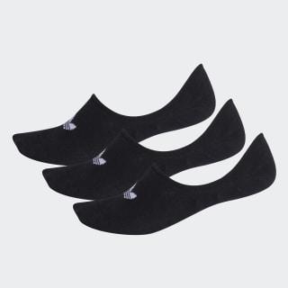 Görünmez Çorap - 3 Çift Black FM0677