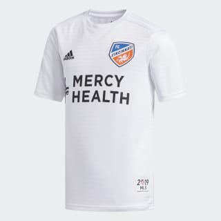 FC Cincinnati Away Jersey Mls-Fcn-C6c / White / White FL8860