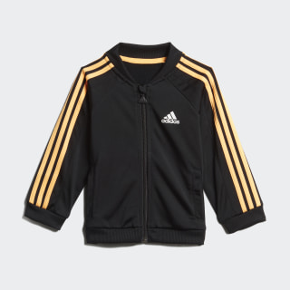 Conjunto deportivo Shiny Black / Flash Orange ED1143