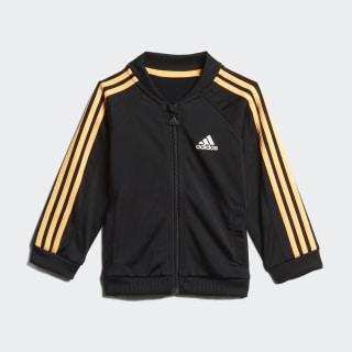 Sudadera Shiny Black / Flash Orange ED1143