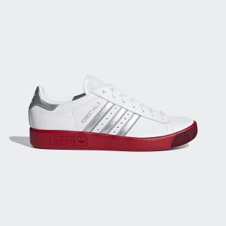 Forest Hills Shoes Ftwr White / Silver Met. / Scarlet BD7622