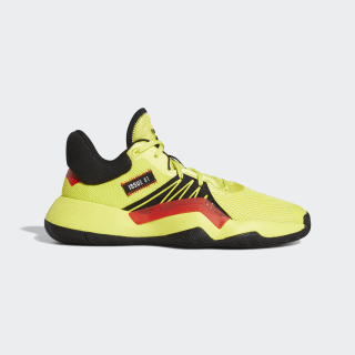 D.O.N. Issue #1 Shoes Shock Yellow / Core Black / Active Red EG5667