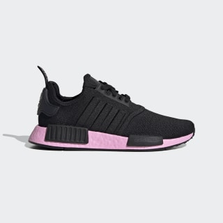 Chaussure NMD_R1 Core Black / Core Black / True Pink EF4272