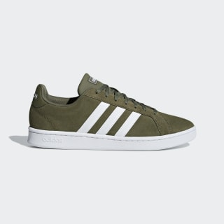 Tênis Grand Court raw khaki / ftwr white / ftwr white F36413