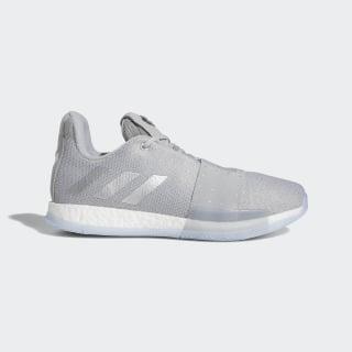 Harden Vol. 3 Shoes Grey Two / Silver Metallic / Aero Blue F36443