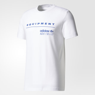 Playera EQT PDX Classic White / Mystery Ink BS2805