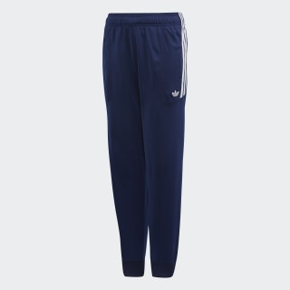 Flamestrike Track Pants Dark Blue / White DW3864