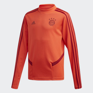 Haut d'entraînement FC Bayern Bright Red / Active Maroon DX9160