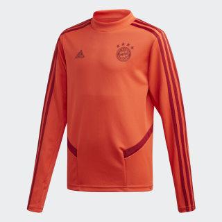 Sudadera entrenamiento FC Bayern Bright Red / Active Maroon DX9160