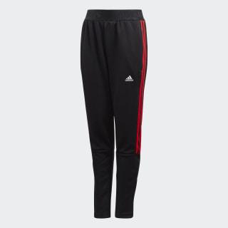 Spodnie Tiro Black / Vivid Red FL2747