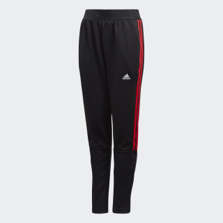 Tiro Pants Black / Vivid Red FL2747