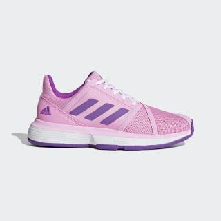 CourtJam Bounce Multicourt Shoes True Pink / Active Purple / Cloud White F36710