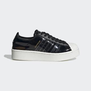 Кроссовки Superstar Bold core black / core black / off white FW8423