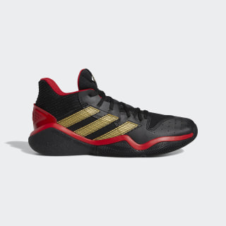 Harden Stepback Shoes Core Black / Scarlet / Shock Lime EH1943