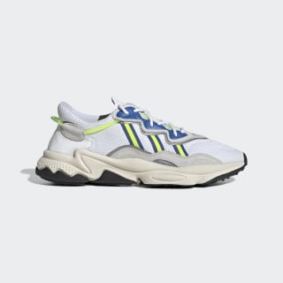 Chaussure OZWEEGO Cloud White / Grey One / Solar Yellow EE7009