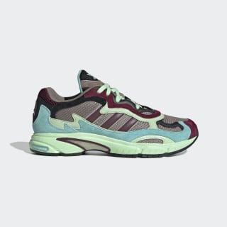 Temper Run Shoes Core Black / Easy Mint / Glow Green EE7741