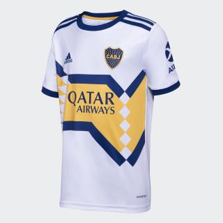 Camiseta Visitante Boca Juniors Niño White / Mystery Ink GL4170