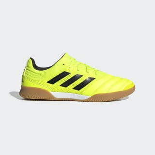 Chuteira Copa 19.3 Sala Futsal Solar Yellow / Core Black / Solar Yellow F35503