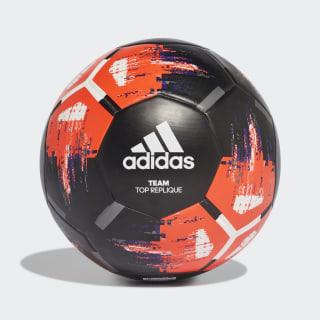 Team Top Training Ball Black / Solar Red / White / Collegiate Purple FK9549