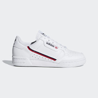 Continental 80 Shoes Ftwr White / Scarlet / Collegiate Navy F99787